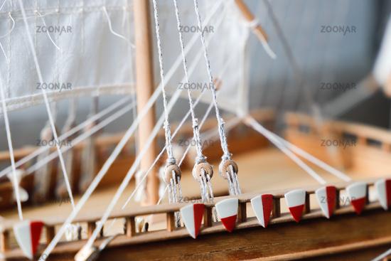 details of sailing equipment