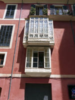 Old facade in Palma de Majorca
