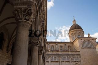 Kathedrale in Dubrovnik. Kroatien