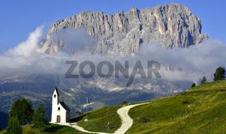 Langkofel; Dolomiten; Suedtirol; Italien