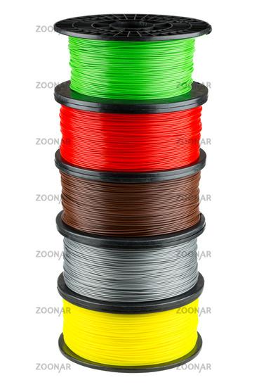 Filament coils for 3d print