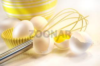 Yellow egg yolk