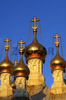 Zwiebeltürme, Russisch-Orthodoxe Kirche Genf