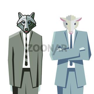 Wolf  Schaf.eps