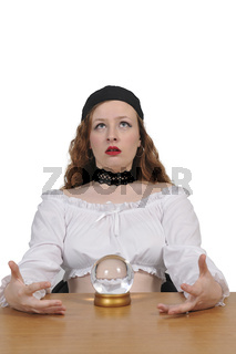 Woman Gypsy Fortune Teller