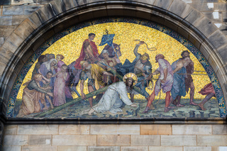 wall decoration of Bremen Cathedral