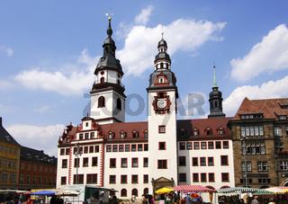 Altes Rathaus, Chemnitz, Deutschland
