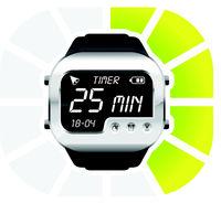 digital watch timer 25 minutes