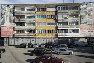 Wohnhaus in Sanski Most, Bosnien-Herzegowina