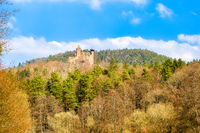 Castle Berwartstein in palatine forest