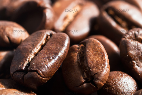 Coffee beans background V1