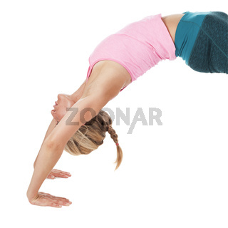 Yoga_das Rad_Oberkörper