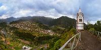 Mountain village Sao Vicente - Madeira Portugal