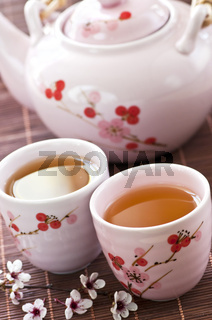 Green tea set
