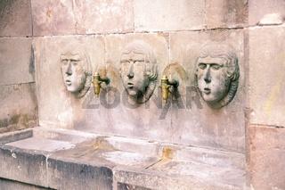 Ein Trinkwasserbrunnen in Spanien.