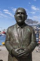 Frederik Willem de Klerk Bronzestatue