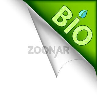 Bio page corner