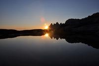 Midnightsun at Senja island