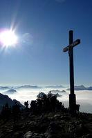 Gipfelkreuz am Chiemsee