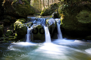 Wasserfall Schiessentuempel, Muellerthal, Luxemburg