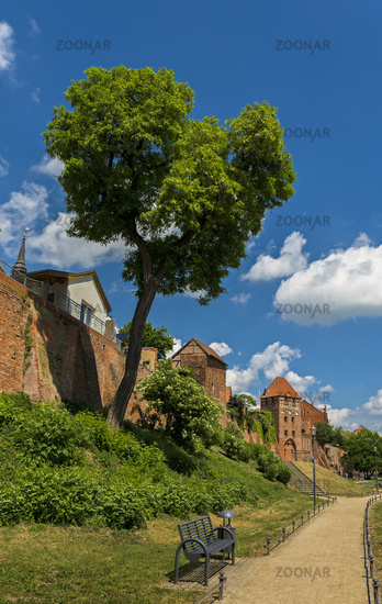 City wall in Tangermuende
