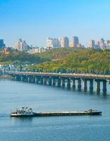 Kiev river transportation, Ukraine