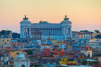 Rome at twilight. Italy