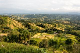 Valley around the mountains of San Jose de las Matas