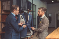 Tailor and customer