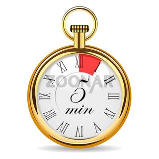 mechanical watch timer 5 minutes