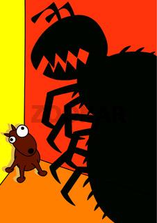 pet dog flea infestation