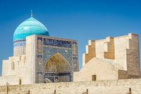 Kalyan mosque and wall, Bukhara