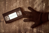 Stealing videotape with confidential record