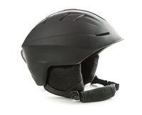 The black ski helmet.