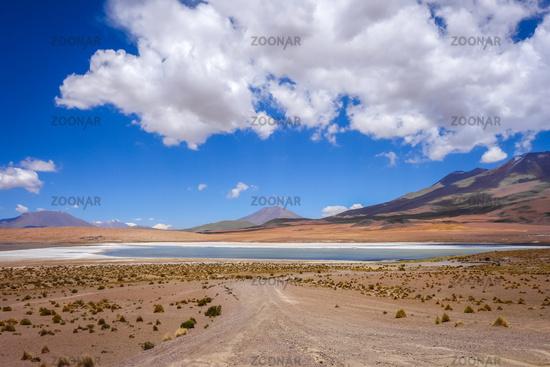 Altiplano laguna in sud Lipez reserva, Bolivia