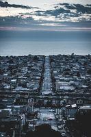 The street through San Francisco