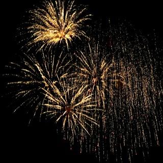 Feuerwerk in der Nacht