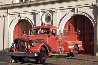 Retro fire car