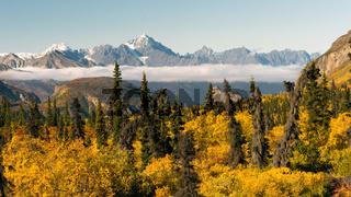 Chugach Mountains Matanuska River Valley Alaska United States