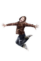 Junge springt wd712