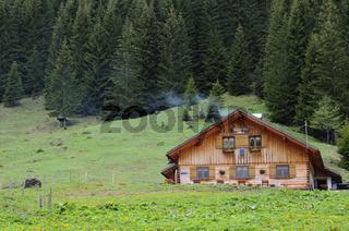 Bärgunthütte, Kleinwalsertal, Österreich