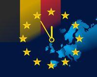 EU and flag of Belgium - five minutes to twelve.jpg