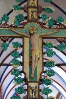 Christusseite des Kreuzaltars - Münster Bad Doberan