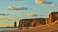 Die Lange Anna und die Klippen von Helgoland