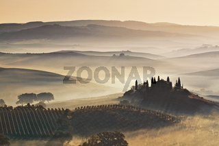 Val d'Orcia, Toscana, Italy