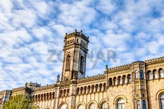 Welfenschloss - Hauptgebäude der Gottfried Wilhelm Leibniz Universität in Hannover