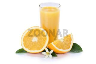 Orangensaft Orangen Saft Orange Fruchtsaft Glas freigestellt Freisteller isoliert Frucht Früchte
