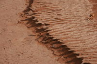 crust of sand and soil