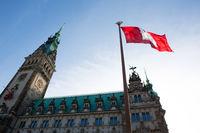 Hamburg City Hall, Hamburg, Germany