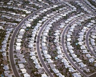 USA, Arizona, Phoenix, Sun City, Rentnersiedlung / USA, Arizona, phoenix, Sun city, pensioner-settlement